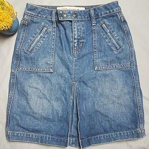 Gap Jeans denim skirt size 0